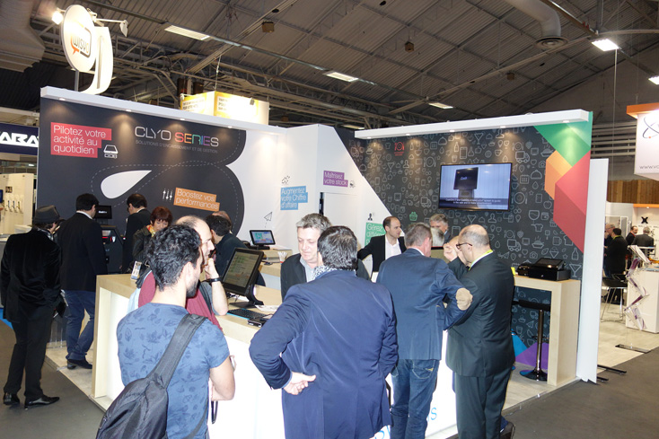 Stand Clyo Systems sur Equip'Hotel