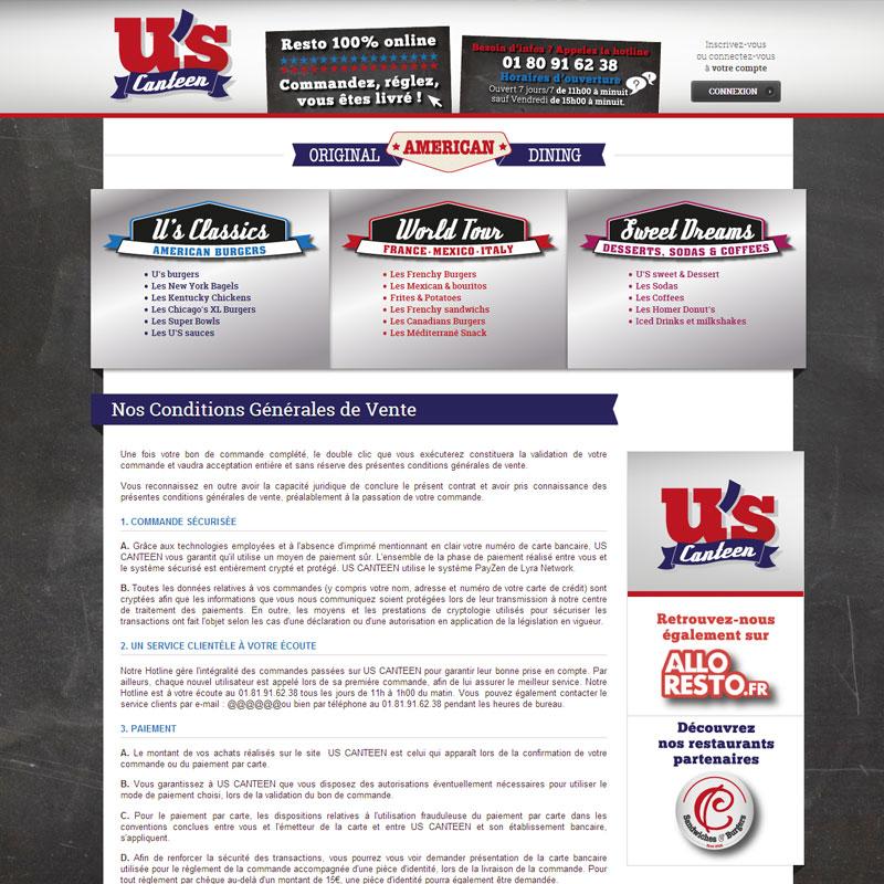 site internet de vente en ligne pour la restauration rapide site internet restaurant. Black Bedroom Furniture Sets. Home Design Ideas