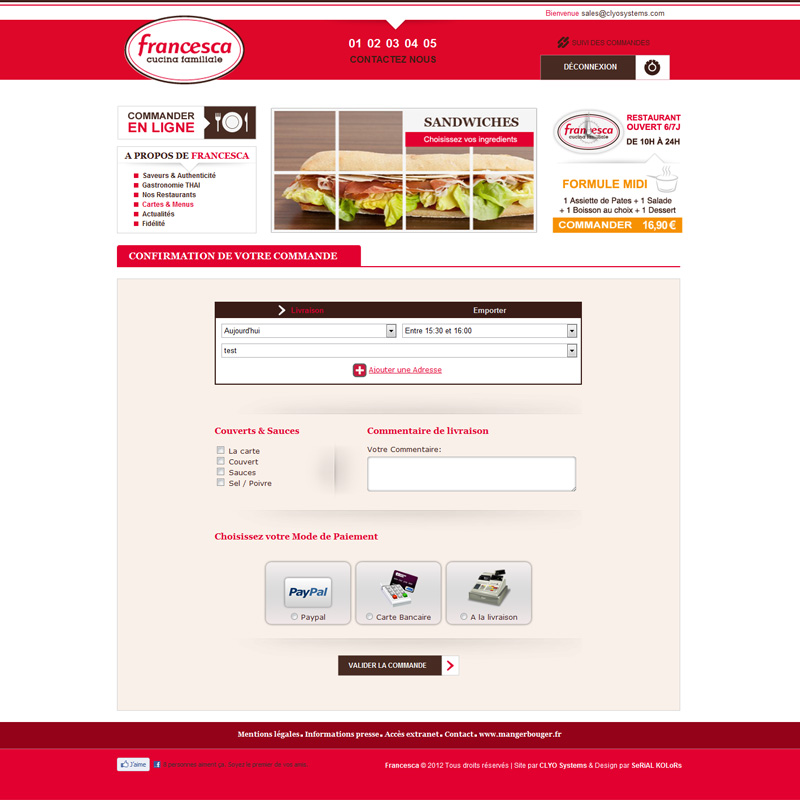 Clyo systems cr ation de site internet de vente en ligne for Site de jardinage en ligne