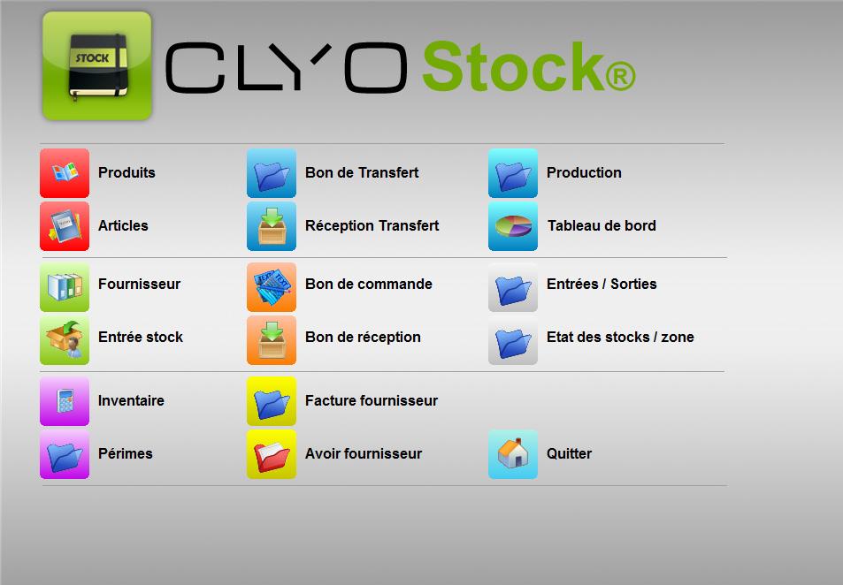 Inventaire Et Réapprovisionnement De Marchandises, Stock_accueil