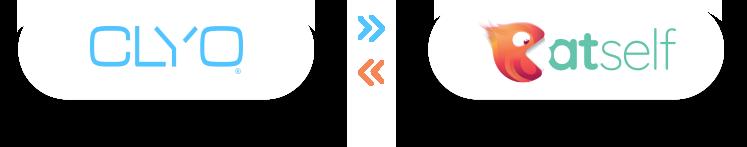 Logo Clyo et Eatself coloré