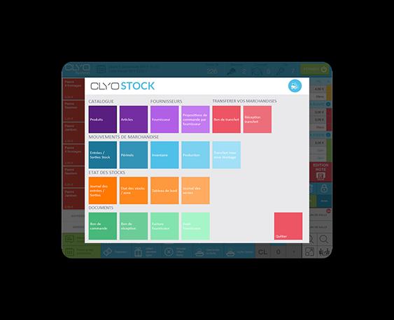 Logiciel de gestion de stock Clyo Systems