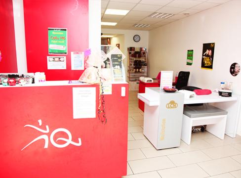 Centre de beauté équipé d'une caisse Clyo Systems