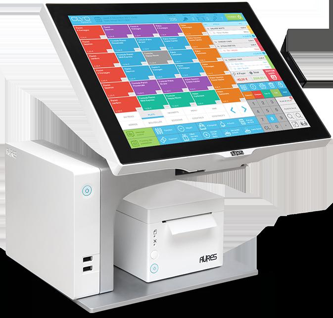 caisse enregistreuse sango avec logiciel et matériel Clyo Systems